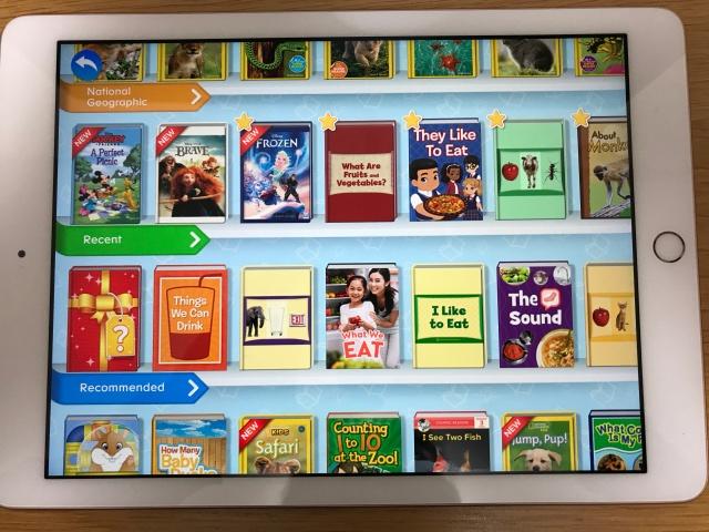 rakuten ABCmouse(楽天ABCマウス)Libraryのデジタル英語絵本一覧