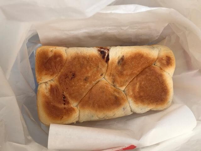 食パン工房「むぎ」のあん食パン