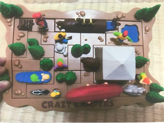 ボーネルンド「クレイジーキャンプパズル」収納の形