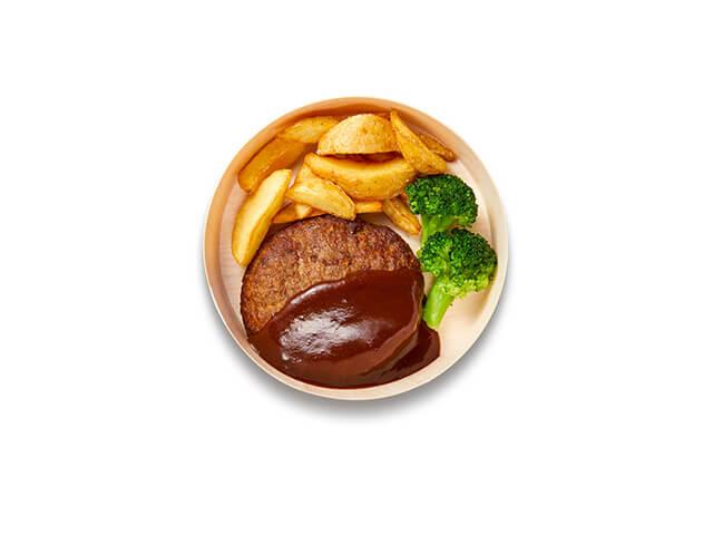 IKEAレストランテイクアウトメニュー「放牧牛の大きなハンバーグ」