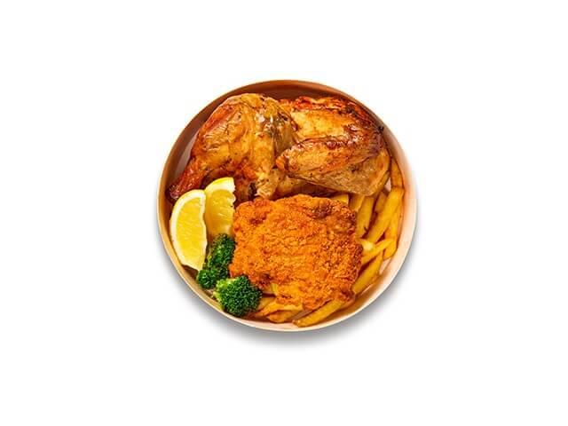 IKEAレストランテイクアウトメニュー「平飼い鶏のダブルチキンBOX」