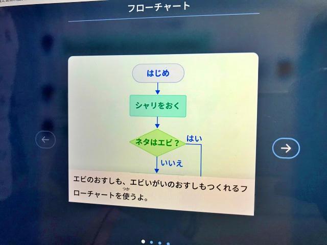 Z会小学生コース「プログラミング学習Z-pro」はい・いいえの分岐フローチャート