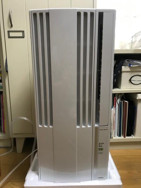 コロナ窓用エアコン本体