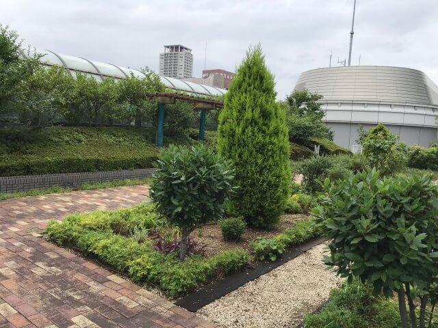 「OCAT屋上ガーデン」