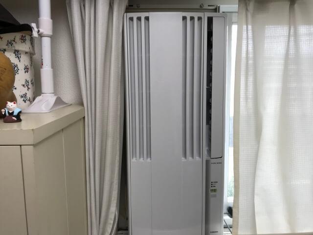 コロナ窓用エアコン「CW1620WS」