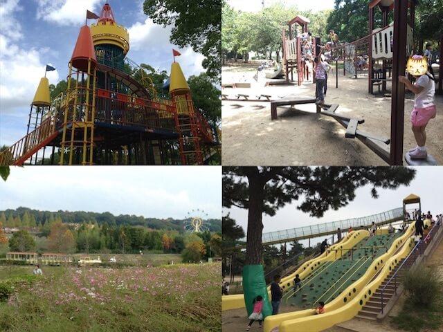 大阪府堺市の遊具公園(大泉緑地・大仙公園・ハーベストの丘・浜寺公園)