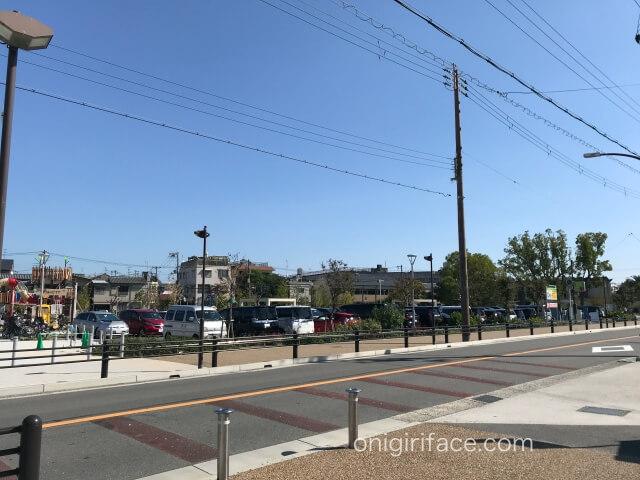 大枝公園東駐車場