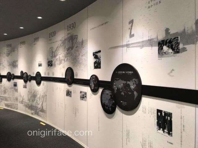 「ピースおおさか大阪国際平和センター」世界中が戦争をしていた時代