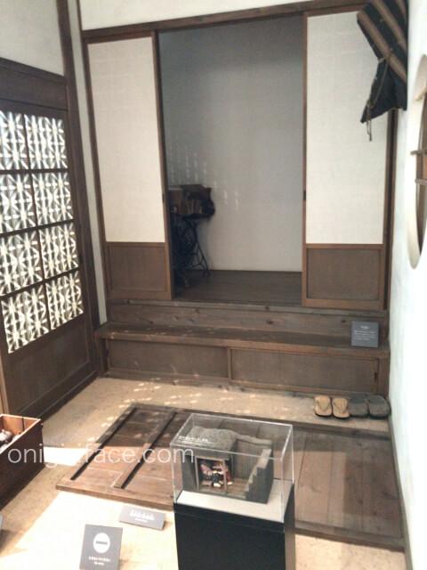 「ピースおおさか大阪国際平和センター」戦時下の民家の展示