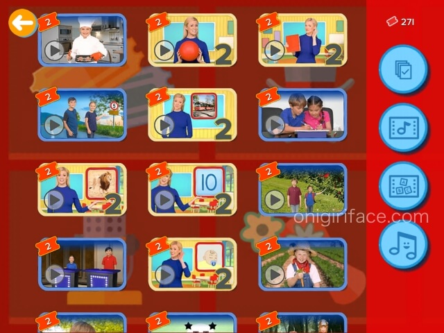 「楽天ABCマウス」先生や子供たちの実写映像一覧