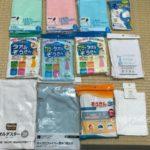 100均セリア(Seria)で買った雑巾9種類・11色