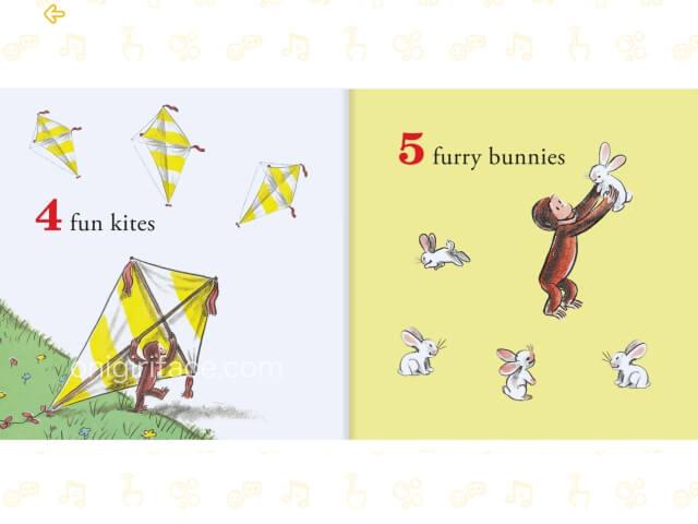 「楽天ABCマウス」デジタル英語絵本「おさるのジョージ」