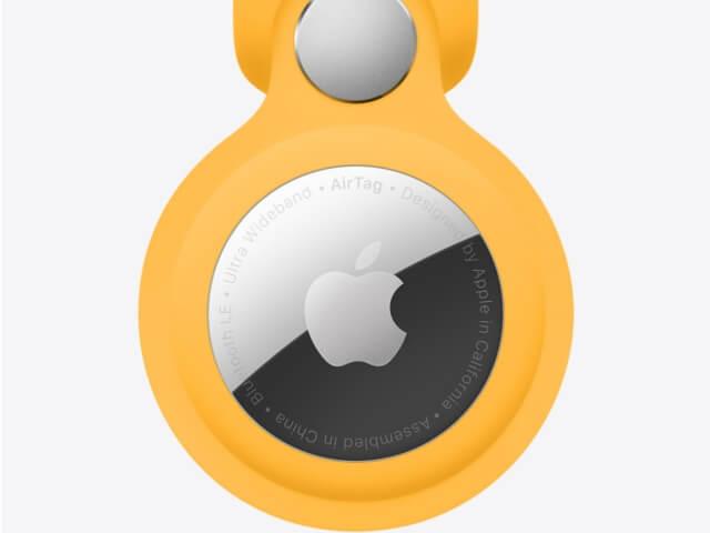 Apple「AirTag」アクセサリー付き